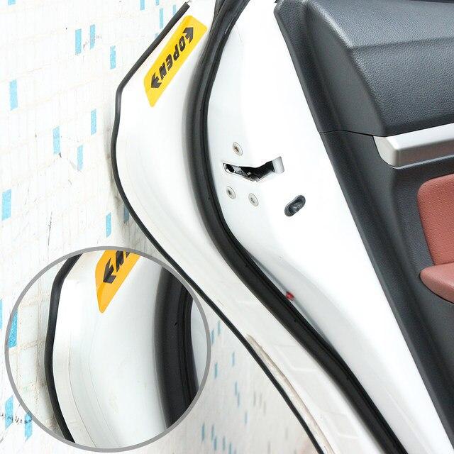 Attractive Auto Styling Tür Schutz Streifen Gummikante Türen Formteile Seite Protector  Aufkleber Kratzer Fahrzeug Für Autos Auto Auto Styling