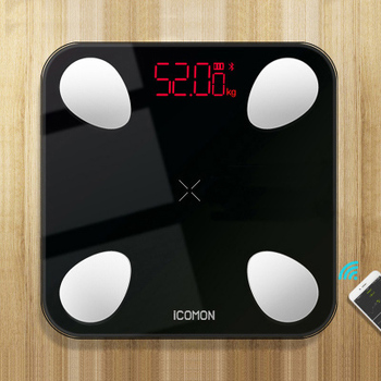 New 25 Body Index Digital Bathroom Scale Floor Smart Body Weight Scale Bluetooth Fat Measuring bmi Mi Scale USB Built-in Battery