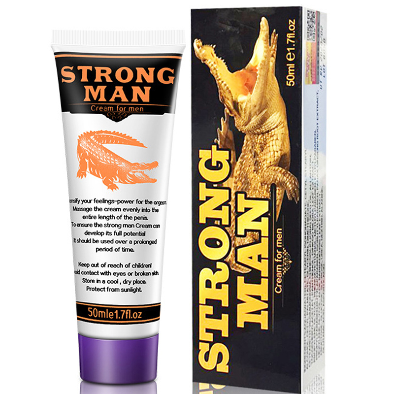 Strong Man Cock Enlargement Cream Male Big Dick Thickening Growth XXL Cream Improve Erectile Enhancer Increase Growth Ointment(China)