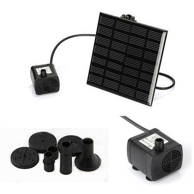 Online Shop 7v 180l H Brushless Dc Solar Power Fountain Water Pump
