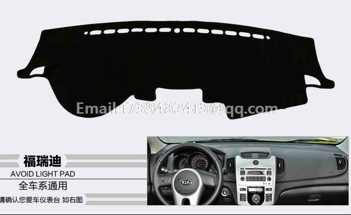 For KIA Forte K3 Cerato 2009 2010 2011 2012 Original Dashmats Car styling Accessories Dashboard Cover Dash Mat
