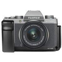 Quick Release L Plate Bracket Holder Hand Grip for Fuji Fujifilm X T100 XT100 Camera, Benro Arca Swiss Tripod Head
