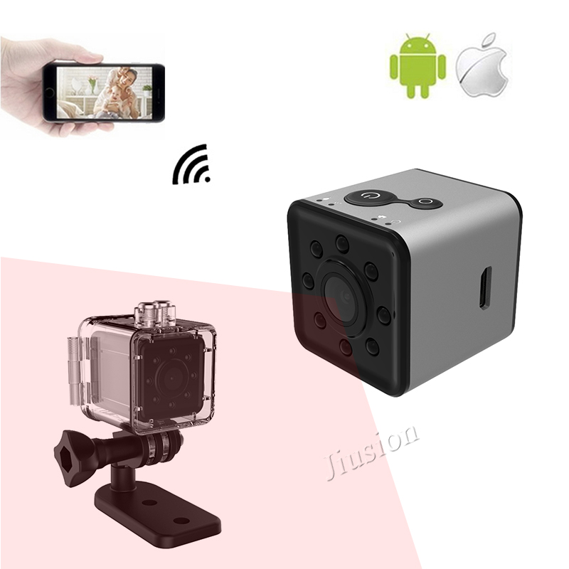 Original Mini Cam WIFI Kamera SQ13 VOLLE HD 1080 p Wasserdichte Shell Nachtsicht Recorder Camcorder Micro SQ11 SQ12 Upgrade