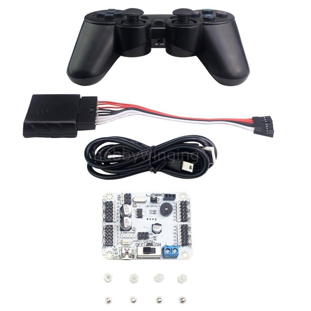 controlador servo digital 24ch com placa de 01