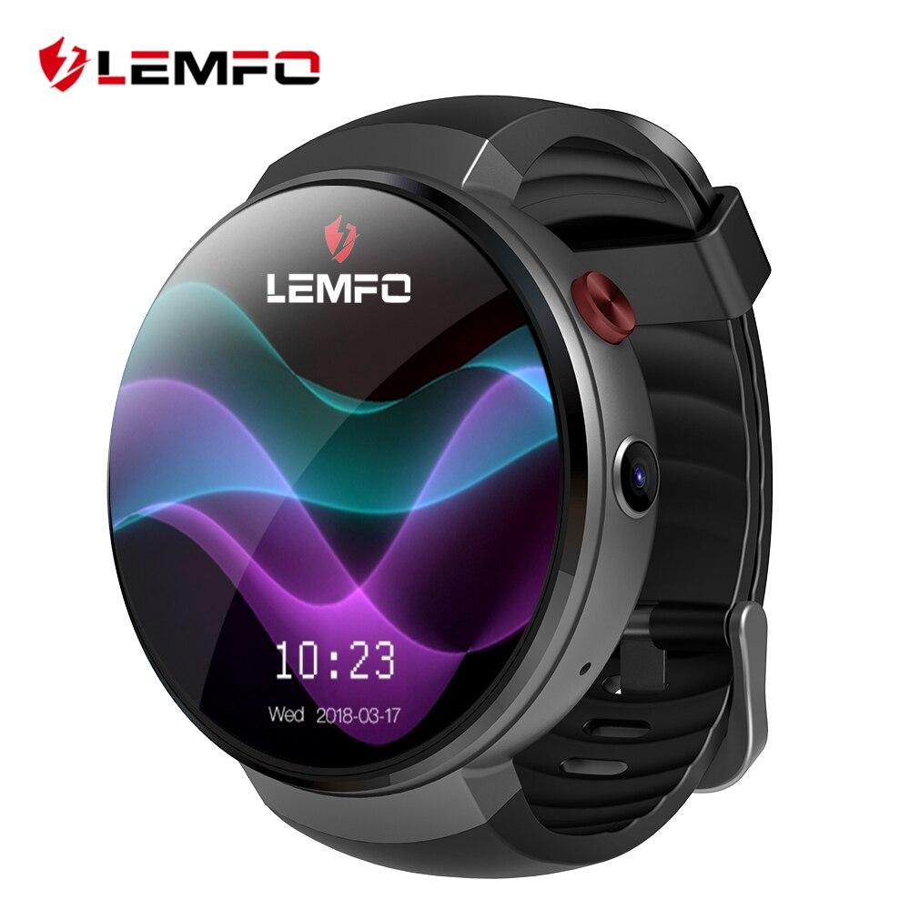 LEMFO LEM7 умные часы Android 7,0 часы телефон LTE 4 г Смарт часы-телефон сердечного ритма 1 ГБ + 16 ГБ с Камера перевод инструмент