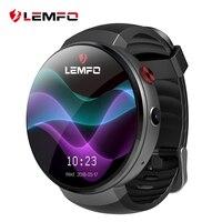 LEMFO LEM7 умные часы Android 7,0 часы телефон LTE 4 г Смарт часы телефон сердечного ритма 1 ГБ + 16 ГБ с Камера перевод инструмент