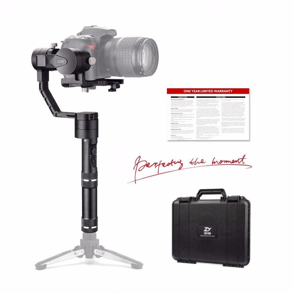 Zhiyun Official Crane V2 3 Axis Handheld Gimbal Stabilizer Brushless Motors For Mirrorless Camera And Dslr