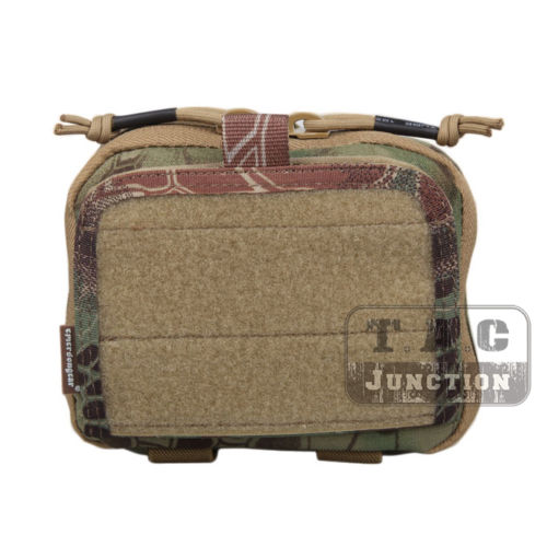 Emerson Tactical MOLLE Combat Multi-purpose Admin Pouch EmersonGear Military Gear Map Multifunction Bag Hunting Pouch