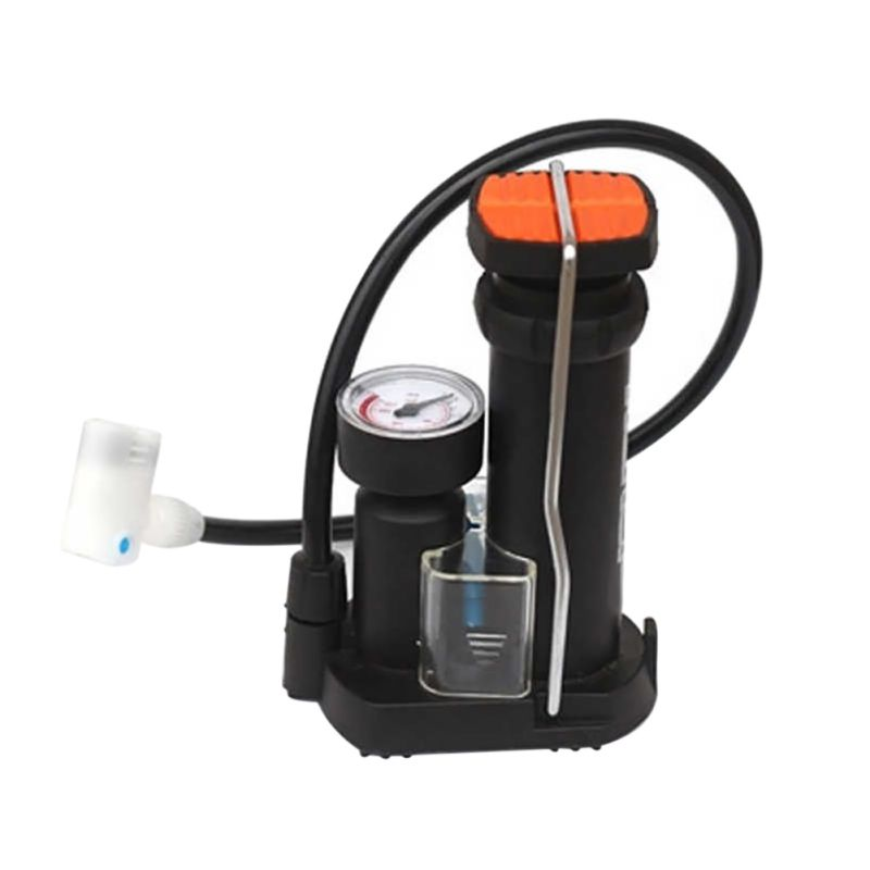 High-pressure Bicycle Pump Portable Cycling Pedal Straddling Inflator Mini Bike Pumps Road&Mountain Bike Bicycle Accessories New