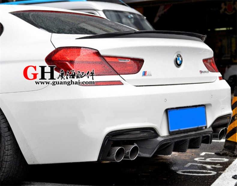 Alerón de fibra de carbono para BMW Serie 6 M6 F12 Coupe F13 F06 Gran Coupe 2011-2019 alerones traseros de alta calidad