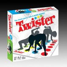 Twister игровой коврик Для тела твист игрушки Для тела баланс интерактивные игры игрушки партия спортивные игры Коврик Fun Спорт на открытом воздухе Игрушечные лошадки