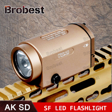 AK47 AK74 AK SD 47 74 Tactical Gun Light AK-SD TWPS Weapon LED Flashlight Fit 20mm Picatinny Rail Momentary Strobe Output