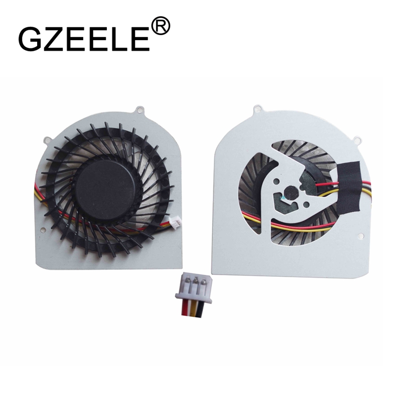 GZEELE new Laptop cpu cooling fan for DELL XPS 14Z L412X Notebook Cooler Radiator Computer Replacement Cooler YMK5R 3 line 3pins