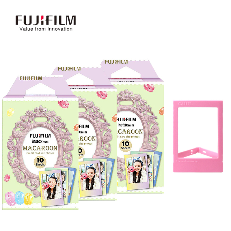 Fujifilm Instax Mini 9 8 7s 25 50s 90 Film 30 Sheet Photo Instant Camera Paper Marca Dragon Film instant Mini Camera Accessories