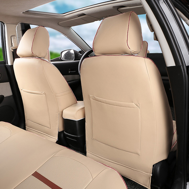 AutoDecorun car seat PU leather for toyota land cruiser seat covers car accessories custom seat supports middle east &US Version