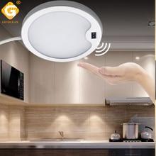 PIR Motion Sensor LED Cabinet lamp 3W 12V DC 21PCS Chips Cabinet Wardrobe Closet Night Lighting Kitchen Under Cabinet Lights недорого