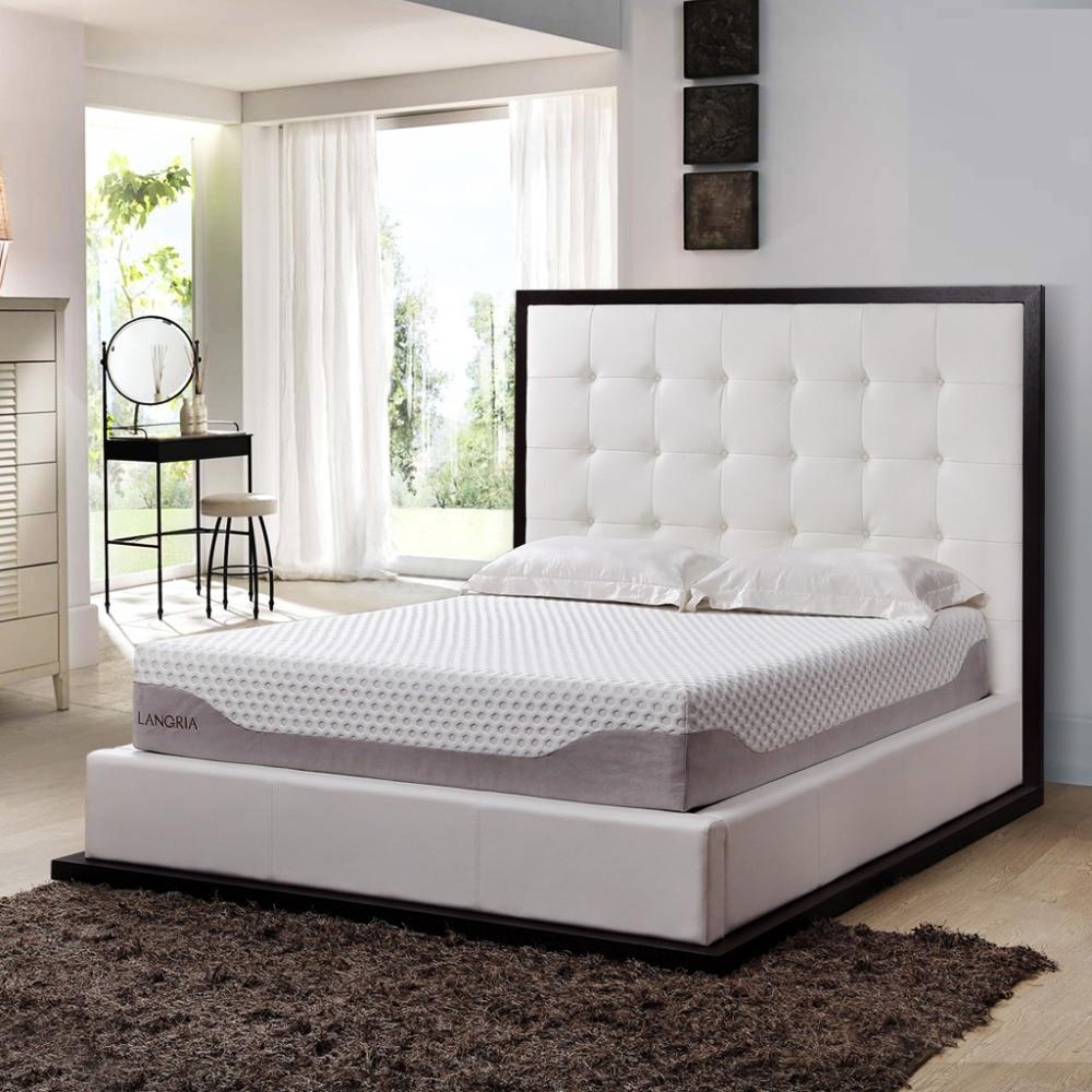 Aliexpress.com : Buy LANGRIA 10 Inch Modern Triple Layer Cool Gel Sleep Bed  Memory Foam Mattress Eco friendly Healthy Mattress Twin Full Queen Size  from ...