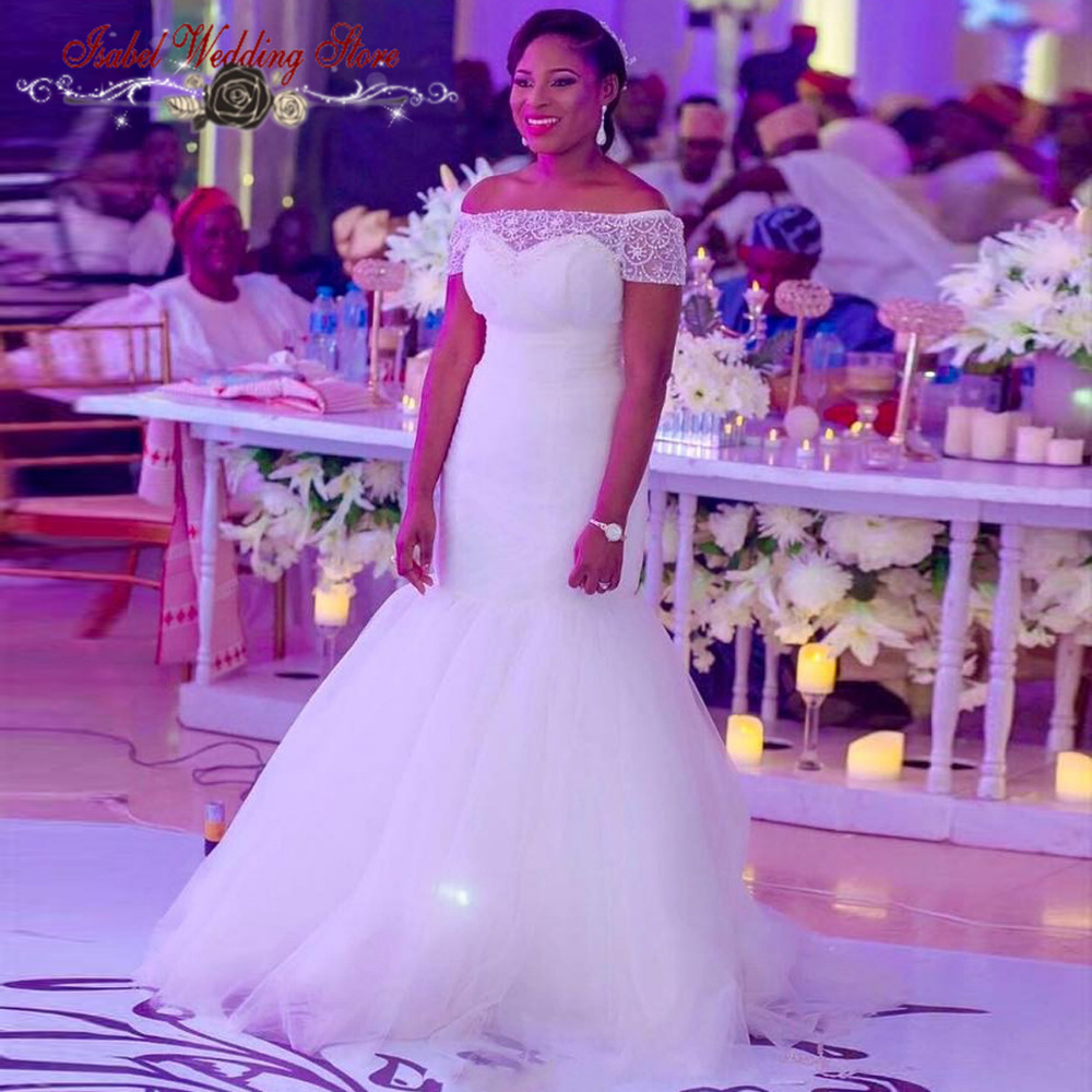 Robe De Mariage Short Sleeves Wedding Dress 2016 Sheer