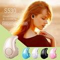 Мини Стерео S530 Bluetooth Наушники Наушники Гарнитуры Беспроводные Наушники Hands Free Mic Универсальные Для Xiaomi Samsung Телефон Музыка