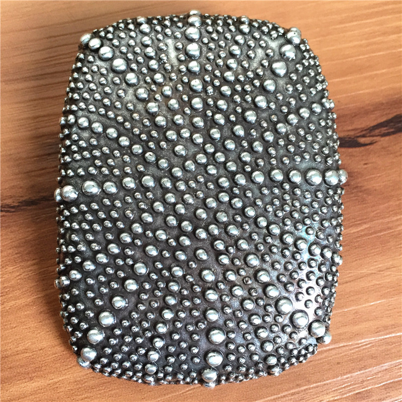 High Quality Vintage Dots Belt Buckles For Belt Alloy Fashion Belt Buckle For Man Belt 2018 AK0025
