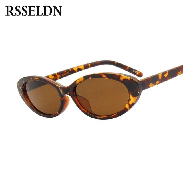 RSSELDN ovalada pequeña Gafas de sol de las mujeres Vintage de diseñador de  la marca 2019 93fdb79a16