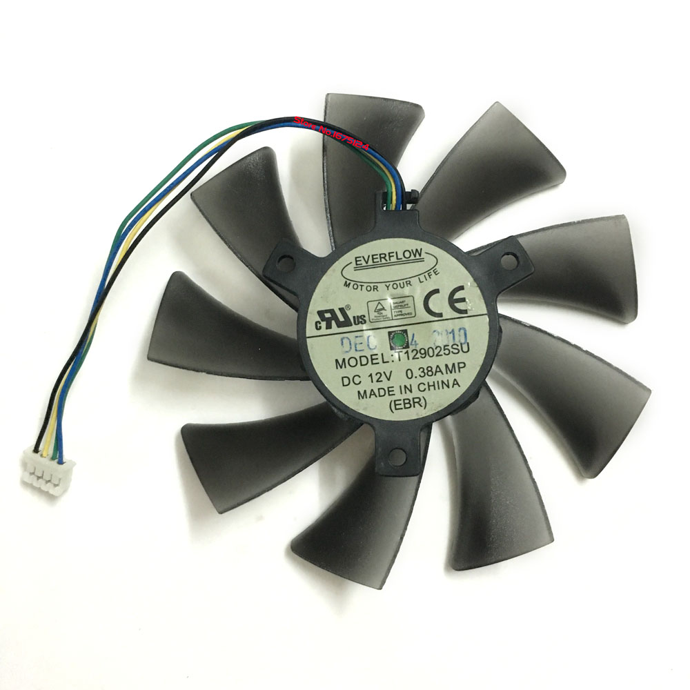 Graphics card Fan Matrix HD 7970/7950 gpu Cooler For ASUS HD7970 HD7950 DirectCU II Video Card cooling