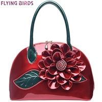 FLYING BIRDS 2016 Women Handbag Designer Wedding Tote Women Leather Handbags Bolsas Bag Flower Summer Women