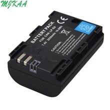 цена на 2650mAh LP-E6 Digital Camera Battery For Canon EOS 5D Mark II 2 III 3 6D 7D 60D 60Da 70D 80D DSLR EOS 5DS lp e6 Dropshipping