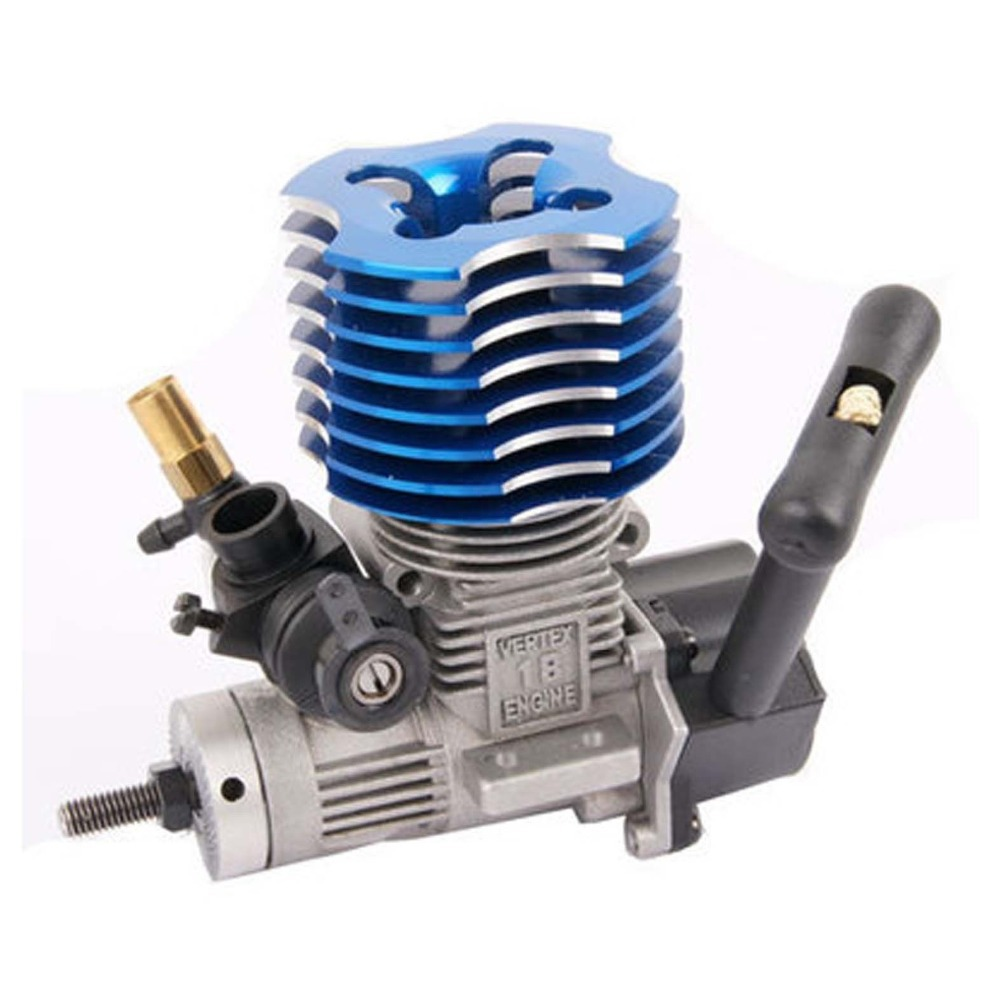 HSP 02060 BL VX 18 Engine 2.74cc Pull Starter for RC 1/10 Nitro Car Buggy EG630 двигатель super tigre 18 nitro купить