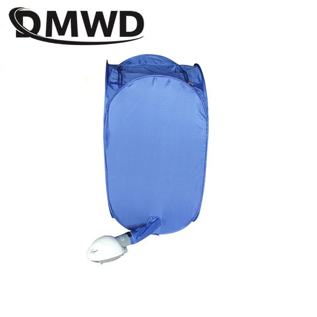 DMWD Mini Portable Garment Dryer Electric Laundry Air Warmer Wardrobe Dehydrator Foldable Baby Clothes Quick Drying Machine Rack 4
