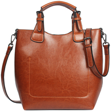 Fashion Women Shoulder Bag 100% Genuine Leather  Classic Bucket Handbag Lady Casual Tote Purse High Quality Charm Bags Female latest fashion genuine leather rodeo pony charm for women s bag new horse bag charm 2 side bicolor pm 13 10 cheap purse charm