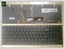 Russian RU Keyboard for CLEVO P651 P651SE P655 P671 P655SE P671SG P650 P651 P650SA P650SE P651SG P651SA SAGER Black