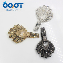1710195,1pc svery beautiful fashion Fur buttons,coat buttons.Rhinestone buttons.Platypus glass with a diamond buckle,Accessories