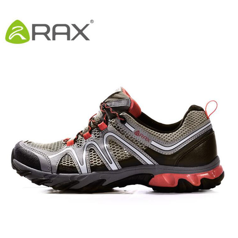 Rax Men Breathable Hiking Shoes Summer Outdoor Sneaker For Camping Trekking Shoes Sport Athletic Travel Footwear Non Slip Shoes rax camping