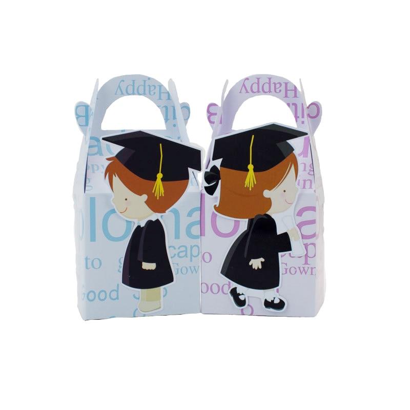 Niñas Niños Graduación Caja del favor Caja de dulces Caja de - Para fiestas y celebraciones