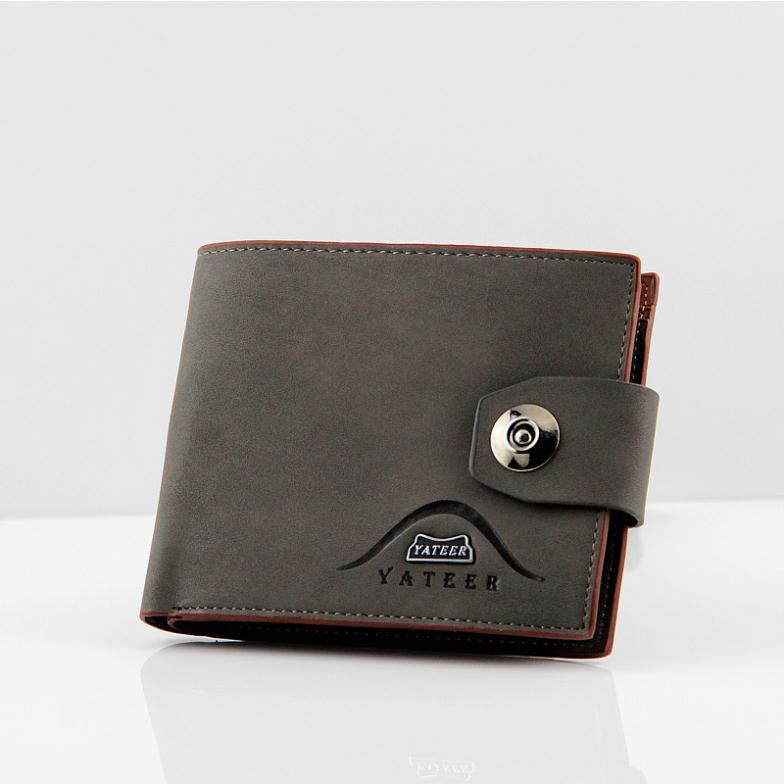New Men's Cards Holder Wallets Business Style Genuine Leather Wallets High Quality Purses Men Card Holder Male Wallets Leather