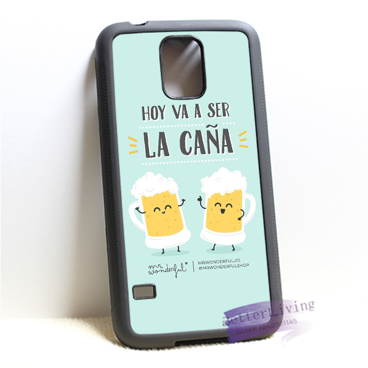 mr wonderful 18 fashion cell phone case cover for samsung galaxy S3 S4 S5 S6 edge S7 edge Note 3 4 5 #IL0596