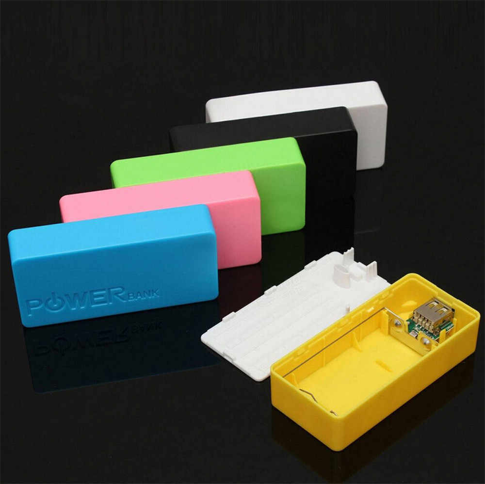 Power Bank Case Box 5600 Mah 2X 18650 Usb Power Bank Battery Charger Case Diy Doos Voor Iphone Sumsang