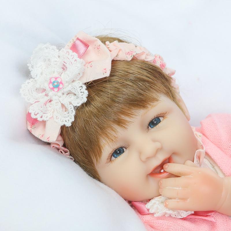 Doll Baby D109 42CM 17inch NPK Doll Bebe Reborn Dolls Girl Lifelike Silicone Reborn Doll Fashion Boy Newborn Reborn Babies цена