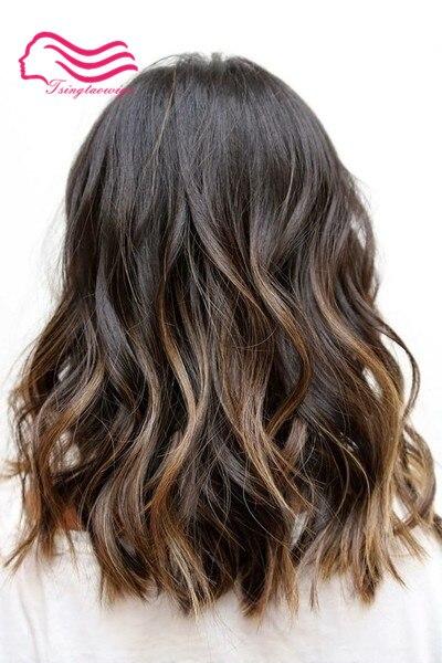 100% européenne vierge cheveux casher perruque, unprocess cheveux bouclés ou légère vague juif perruques livraison gratuite