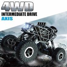 Kedior RC автомобиль 4WD удаленного Управление автомобиля скалолазание автомобиль 4×4 двойные двигатели внедорожник йети игрушки для мальчиков детей