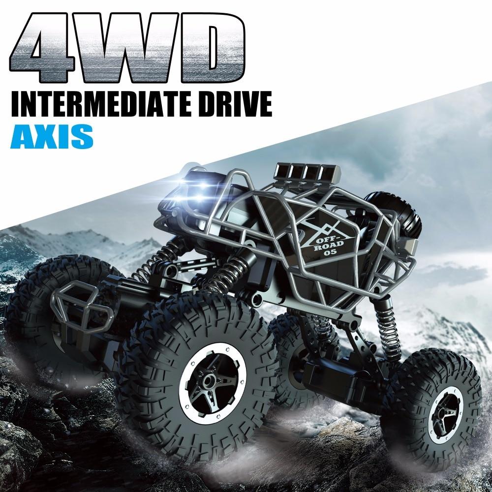 Kedior RC автомобиль 4WD удаленного Управление автомобиля скалолазание автомобиль 4x4 двойные двигатели внедорожник йети игрушки для мальчиков детей