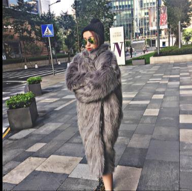 Moelleux Artificielle D'hiver Plus La Fluffy Z332 Pardessus Minkcoat Fourrure Fausse 2018 De Femmes Veste Femme En Taille Outwear FrFqH8