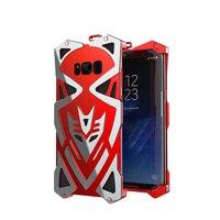 Simon Thor Ironman Metal Case For Samsung Galaxy S8 Case S8 Plus Bumper Luxury Shockproof Aluminum