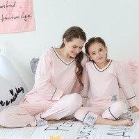 kids pajama sets Girls pyjamas children cotton Casual Family sleepwear children's pajamas girls cute nightclothes 2y 14y