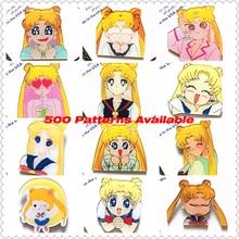 Kawaii Icon Harajuku Sailor Moon Badge Acrylic Brooch For Women/Man Clothes Badge Decorative Rozet Collar Scarf Lapel Pin Broach