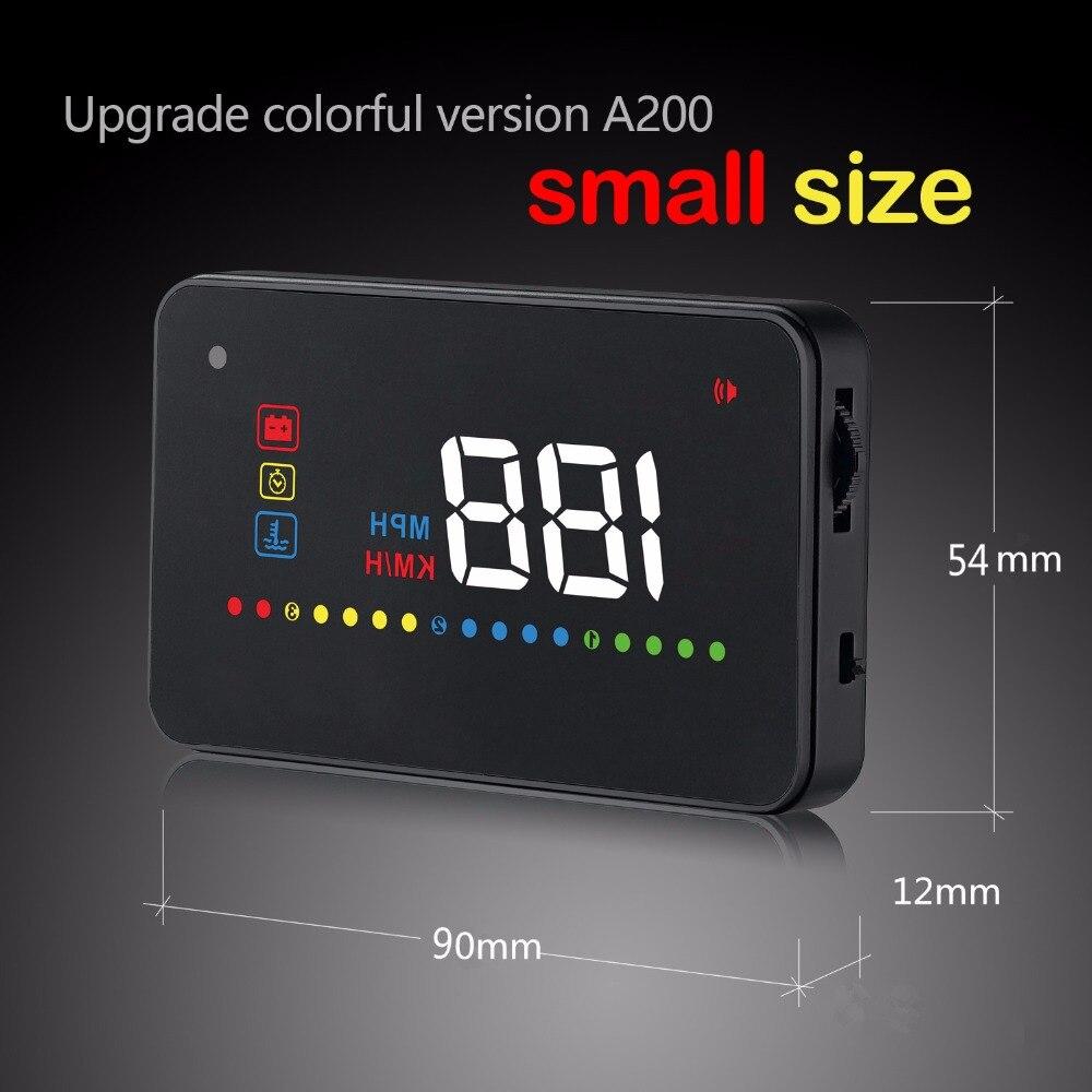GEYIREN 3.5 inch HUD A200 Windscreen Projector Vehis