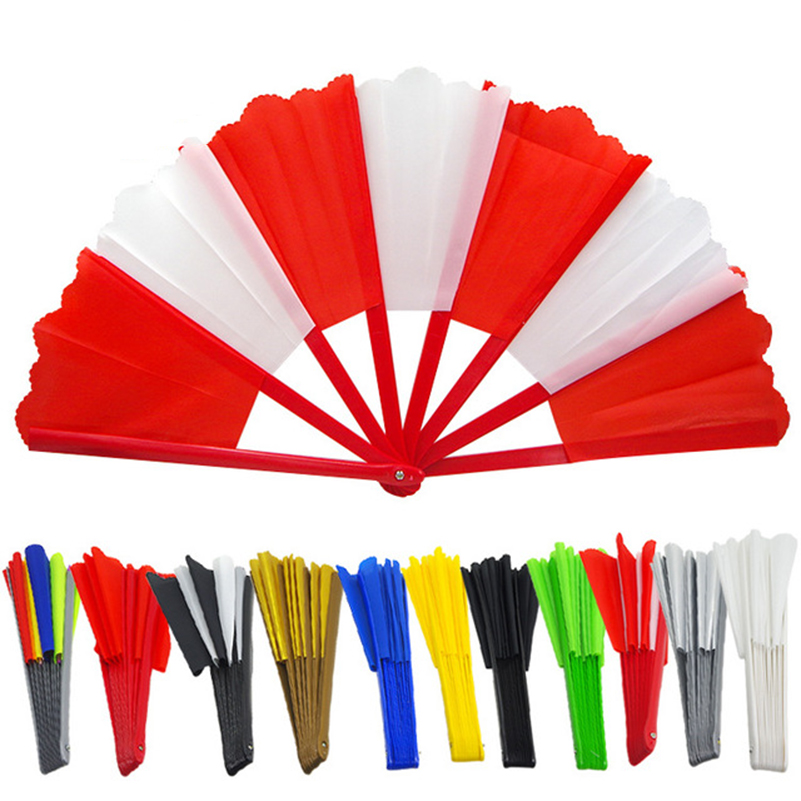 Broken Fan Reduction Magic Funny Fan Multiple Colour Stage Street Magic Props Magic Tricks Fans for Magician in Magic Tricks from Toys Hobbies