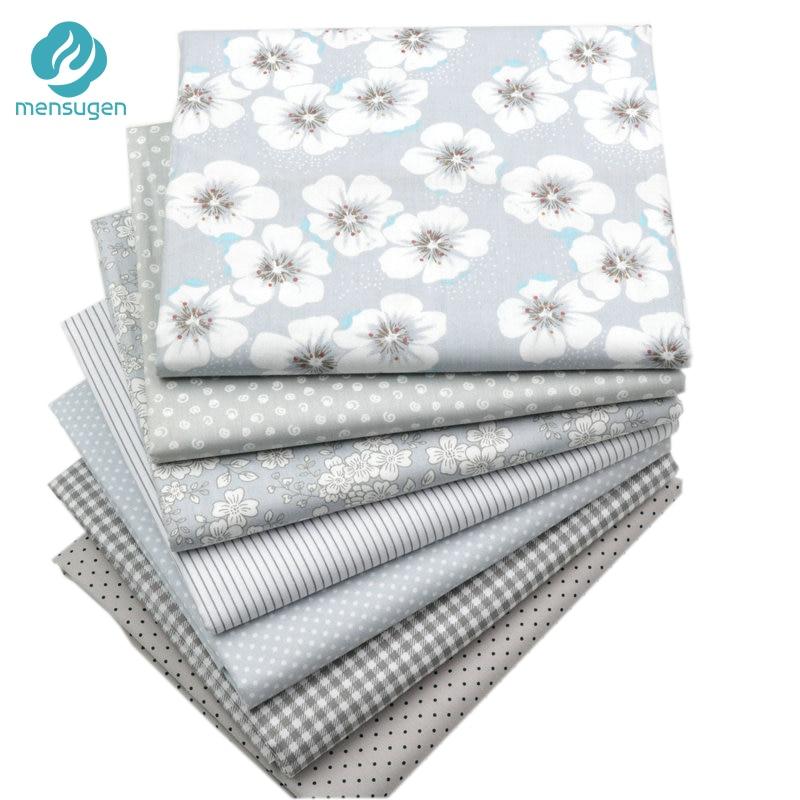 7 colores pueden elegir 1 patio Gery algodón Telas para patchwork quilting Costura DIY artesanías telas tilda tela