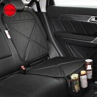 FULL WERK Oxford Car Seat Cover Child Safety Seat Protection Mat Anti Wear Anti Slip Kick